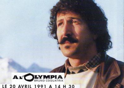 1991-Aït Menguellet à l'Olympia