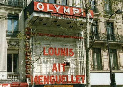 1992-Aït Menguellet à l'Olympia