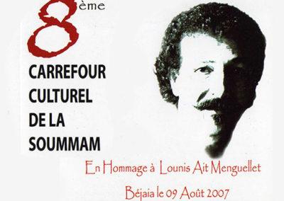 2007- Hommage grandiose à Lounis Aït Menguellet