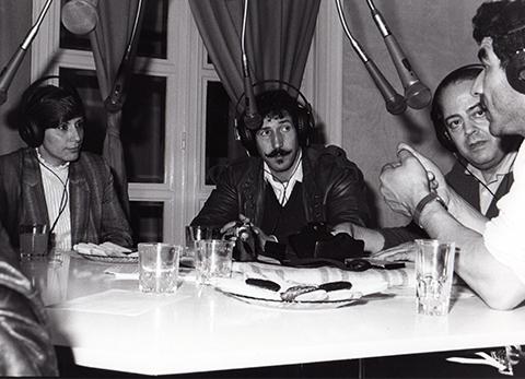 Radio-Beur.Hadjila,Lounis,Maurice et Ramdane Sadi